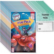 Bendon Big Hero 6 Play Pack Grab & Go (12 Packs) Party Favors