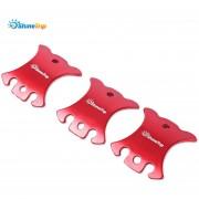 SHINETRIP ajustador de la cuerda de Guyline del (Rojo)