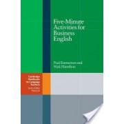 Five-Minute Activities for Business English (Emmerson Paul)(Paperback) (9780521547413)