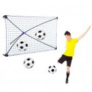 Net Playz Poarta de fotbal pliabila Rebound cu unghi ajustabil ODS2055