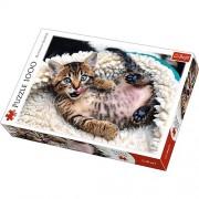 Trefl Puzzle Slagalica Cheerful Kitten 1000 kom (10448)