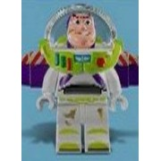 Lego Toy Story Buzz Lightyear Minifigure (Dirty / Dirt Smudged Version) From Set # 7596 Garbage Truck Getaway