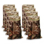Havercamp Next Camo Loot Bags Camouflage Party Favor Treat Sacks (8) by
