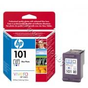 Касета HP 101, Blue Photo, p/n C9365AE - Оригинален HP консуматив - касета с глава и мастило