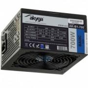 Sursa Akyga AK-B1-700BE ATX 700W BLACK EDITION P4+4 PCI-E SATA PPFC 12 cm
