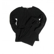 Mil-Tec Thermo Fleece Underställ Tröja & Byxa (Färg: Svart, Storlek: 2XL)