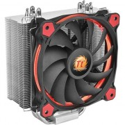 Cooler procesor Thermaltake Riing Silent 12 Red, compatibil Intel/AMD