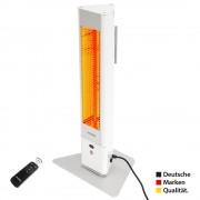 VASNER HeatTower Mini Mobiler Heizstrahler 1500 W WeiÃ?