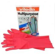 Mănuși multifuncționale Red S 100152 Vileda PROFESIONAL