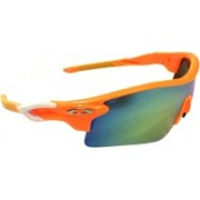 Eye Jewels Sports Sunglasses(Blue, Green)