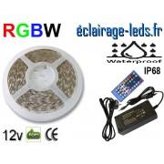 Kit bandeau LED RGBW IP68 smd5050 12v ref bl-21