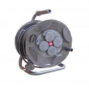 Prelungitor pe tambur 4P 25m cu protectie termica Comtec MF0012-03702