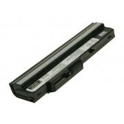 MSI Batterie ordinateur portable BTY-S11 pour (entre autres) MSI Wind U100 (Black) - 2200mAh