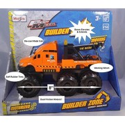 Maisto Fresh Metal Builder Zone Quarry Monsters, Tow Truck