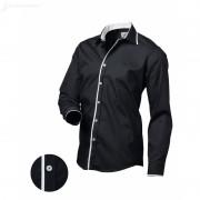 Pánská košile Victorio Černá Victorio V120-XL