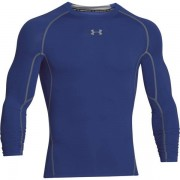 Under Armour HG Armour Compression LS - maglia running manica lunga - uomo - Blue