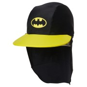 Zoggs Tots Boys Batman Sun Hat Black Yellow
