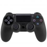 Flexible siliconen beschermings hoesje voor Sony PS4 Game Controller (zwart)
