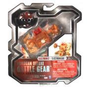 Spin Master Year 2010 Bakugan Gundalian Invaders Deluxe Electronic Battle Gear Set - Double Blasters