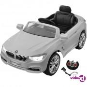 vidaXL BMW autić na baterije za djecu s daljinskim upravljačem, bijeli