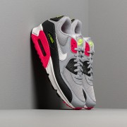 Nike Air Max 90 Essential Wolf Grey/ White-Rush Pink-Volt