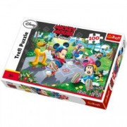 Puzzle Mickey Mouse 100 pcs - Gasca cu role 16249 Trefl