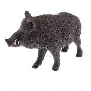 MagiDeal Realistic PVC Animal Wild Model Figurine Action Figures Playset Kids Educational Toy Collectibles –Wild Boar