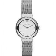 Skagen Analog Silver Round Women's Watch-456SSS