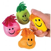 Moody Face Stress Ball, Anti Stress, Anger Reliever, Grip and Wrist Built Up, Ache Relaxer, Fidgeting Ball Anti Stress Face Reliever Ball Squeeze Toy / Super Stretchy Moody Face Stress Ball Smile Face Squeeze Toy Time Killing ToyNovelty Funny Anti-stress