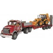 Bruder Truck met Aanhanger