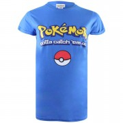 Geek Clothing Pokemon Gotta Catch Em All Logo Heren T-Shirt - Koningsblauw - XS - Blauw