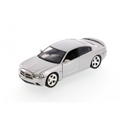 2011 Dodge Charger, Silver - Showcasts 73354 - 1/24 Scale Diecast Model Car