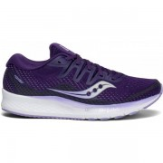 Saucony Ride ISO 2 Women - Female - Paars - Grootte: 35 1/2