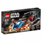 Lego Star Wars A-Wing Vs Tie Silencer Microfi