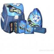 Diverse Soccer School Bag Set 5 delar - Fotboll skolväska 57809