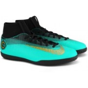 Nike SUPERFLY 6 CLUB CR7 IC Football Shoes For Men(Green)
