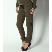 nadrág (melegítő) női METAL Mulisha - Recon - Military Green - M31709301