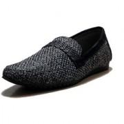 00RA Stylish Black Color Jute Casual Slipon Shoes for Men