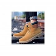 Hombre Botas Casual Para Invierno Fashion-cool-Amarillo
