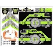stk60093 Autocolant LEGO City 60093 (2 coli)