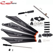 Generic 1 Set : Wholesale/DH 9053 RC Helicopter parts Main blade 2A+2B,Main Blade Grip Set,Bottom fan clip,Tail Blade,Hollow pipe,Inner shalf