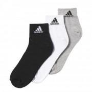 adidas Lot de 3 paires de chaussettes adidas - T14 - 39-42 OL - Foot Lyon