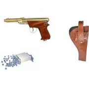 Prijam Air Gun Ew-007 Model With Metal Body For Target Practice Combo Offer 300 Pellets With Cover Air Gun