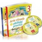 Arte vizuale si abilitati practice - Clasa 3 - Sem.1 si 2 + CD - Mirela Flonta