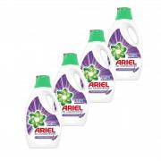 Pachet promo 4 x Ariel Detergent lichid, 2.2L, 40 spalari, Lavanda