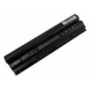 Dell Latitude E6120, E6220, E6230 Laptop akkumulátor - 4400mAh (10.8V / 11.1V Fekete)