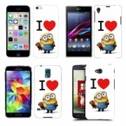 Husa Allview E2 Living Silicon Gel Tpu Model I Love Minions