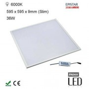 INOXX PAN36W60 6000K Panel LED 60x60 kaseton lampa sufitowa 36W barwa zimna