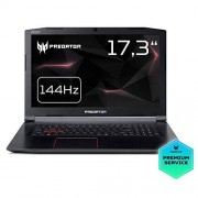 "Acer Gaming Notebook Predator Helios 300 (PH317-52-76F7), 17,3"", Full HD, NVIDIA GeForce GTX 1060, Intel Core i7-8750H, SSD, 8GB RAM"