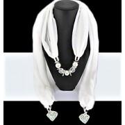 Sjaal met kralen Dana